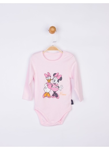 Minnie Mouse  Bebek Body 17204 Pembe